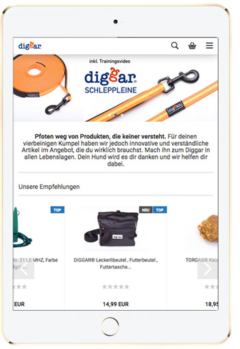 screen diggarshop